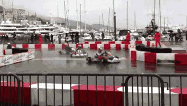 This Is What Happens When About 83,000 Go Karts Crash Into Each Other