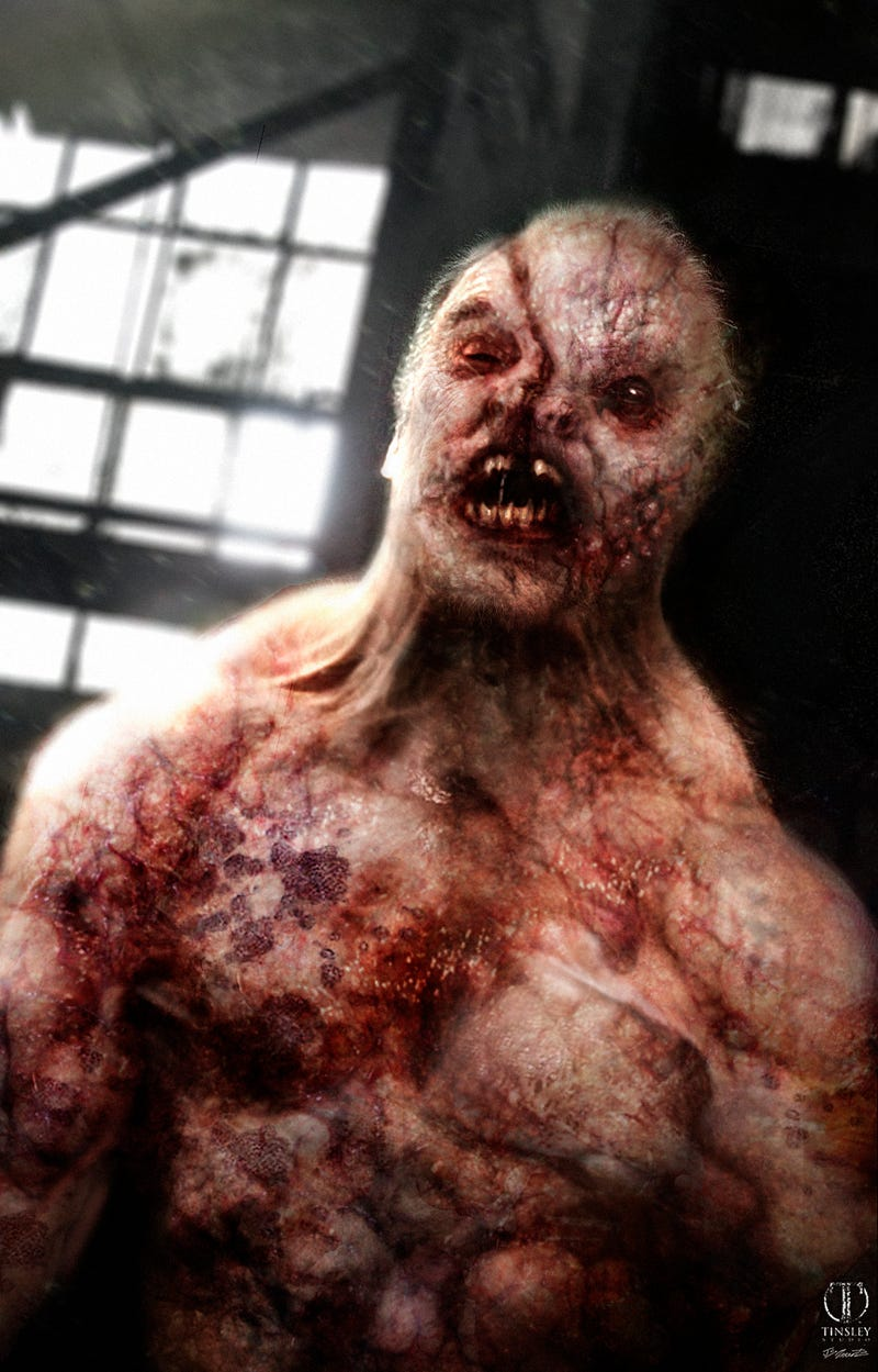 An even more revolting vision of American Horror Story Asylum's aliens