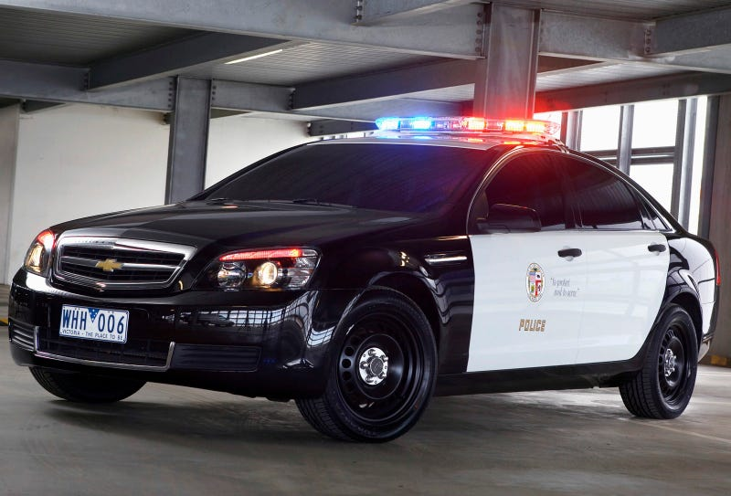Chevy Caprice Police Car: Press Photos