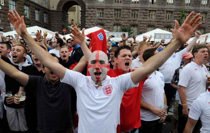 At Euro 2012, No Place For English Optimism Or Swedish Sobriety