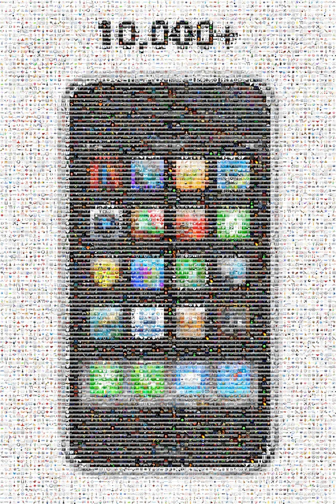iPhone Mosaic Celebrates 10,000 Apps and Counting
