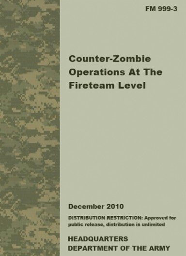 Army Gets How-To Guide for Zombie Invasion