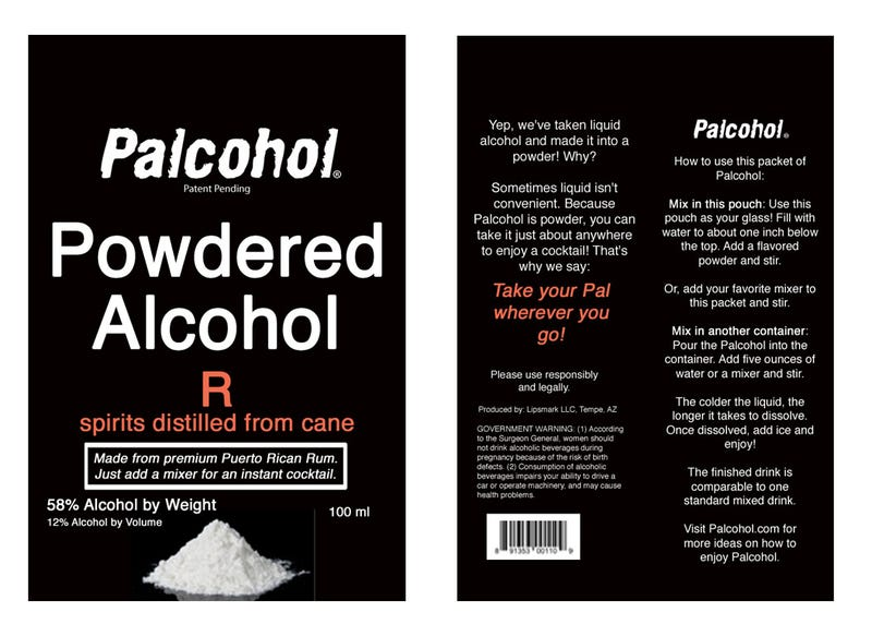 Powdered Alcohol Is Officially A Thing In The United States