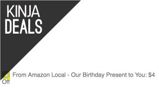 Save $4 Sitewide On Amazon Local