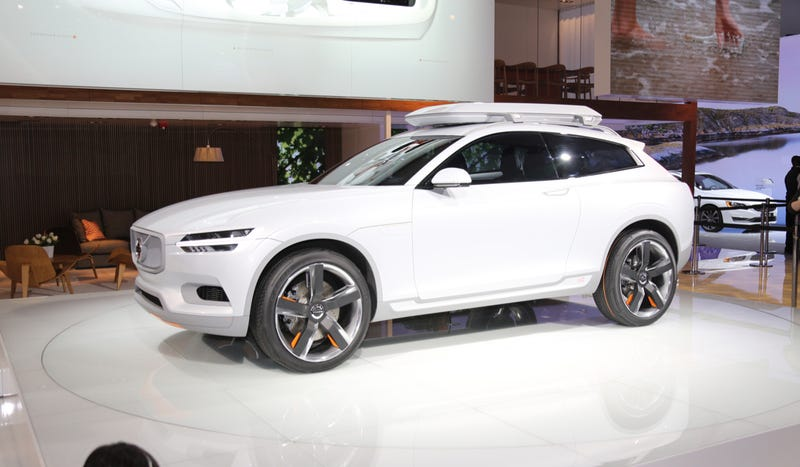 The Volvo Concept XC Coupe And Its Orange Bits Are Beautiful