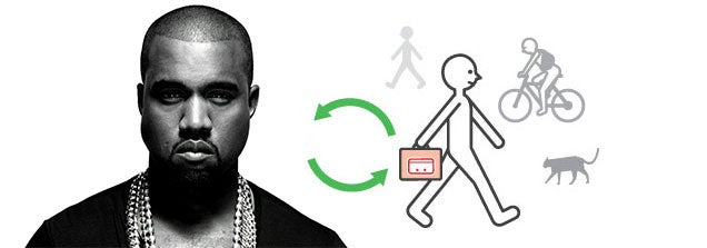 This Is The Sound Of Kanye West Getting A Streetpass