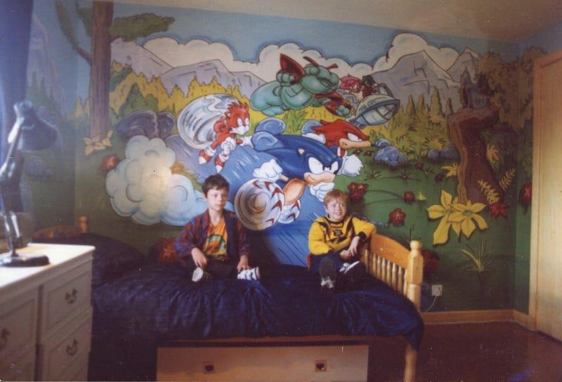 Sonic Mural Is The Stuff Of Dreams/Nightmares