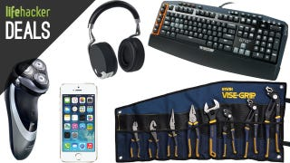 A New Set of Pliers, Logitech Gaming Keyboard, a Better Shave [Deals]