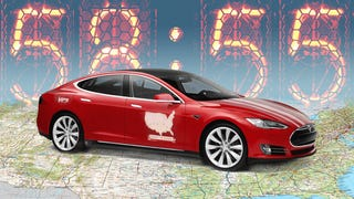They Drove A Tesla From LA To New York In A Record