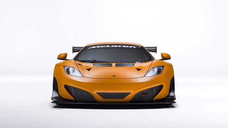 Sébastien Loeb's New Ride Is A 2013 McLaren 12C GT3