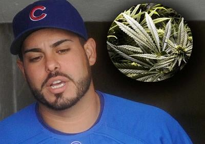 Geovany Soto Likes That Weed