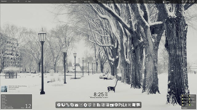 The Snow-Covered Desktop
