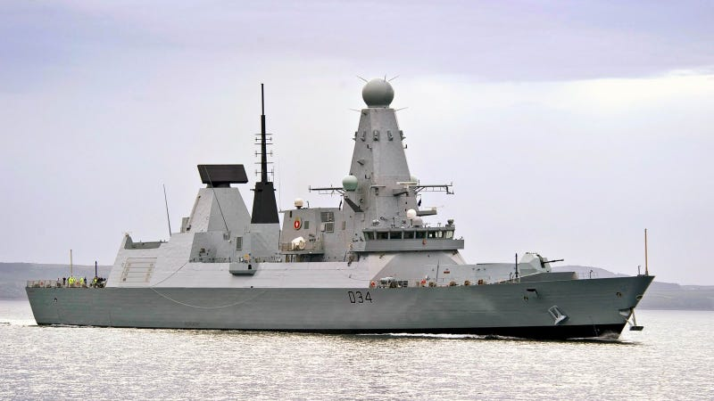 Britain's Brand New £1 Billion Battleship Is a 152-Meter Mobile Missile Shield