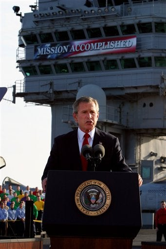It's the Seventh Anniversary of 'Mission Accomplished' Today