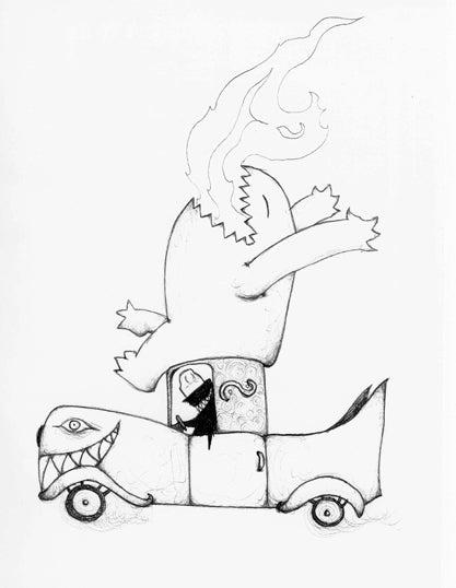 Jeremy Zerfoss is the artist who never sleeps