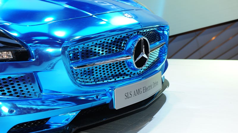 Mercedes SLS AMG Electric Drive: The Supercar Of The Future Will Be Electric And Awesome