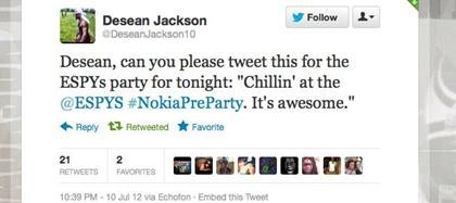 The ESPYs Nokia PreParty Is Awesome, But Its Publicist Is Sort Of Lazy