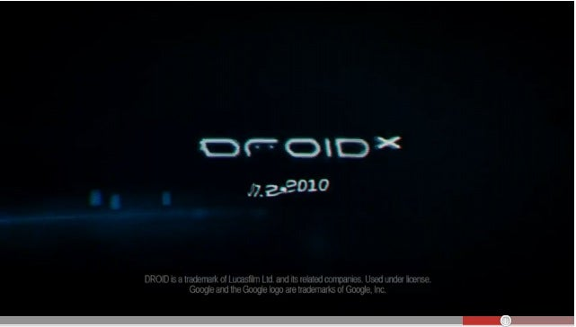 CONSPIRACY FUN: Does the Droid X Teaser Reveal Its Launch Date?