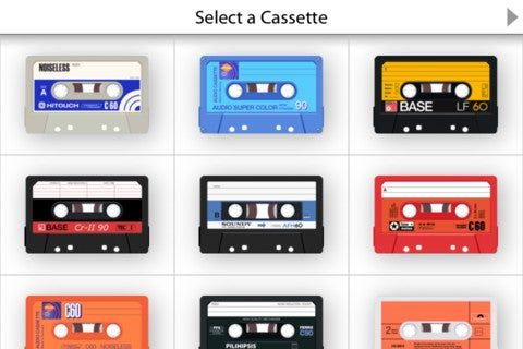 AirCassette App Gallery