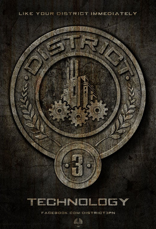 Your First Look inside Hunger Games' District 3