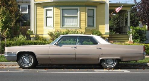1969 Cadillac Sedan de Ville, With Bonus Cadillac Poll