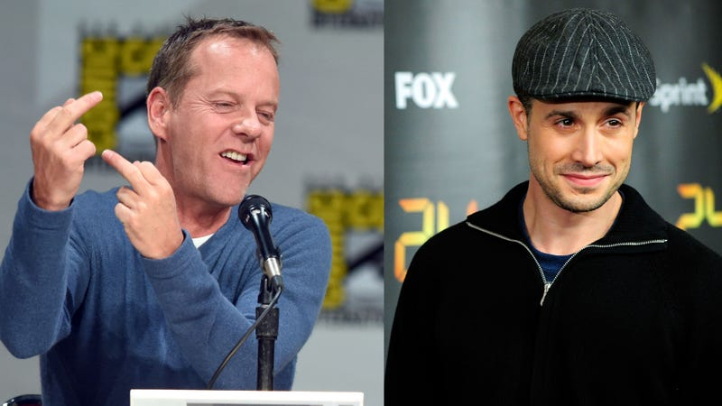 Kiefer Sutherland and Freddie Prinze Jr.'s Weird Bloodfeud Continues