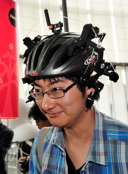 FreakBots, Ear-Pulling Helmets And Anti-Monster Bad-Breath Guns: Japan's Latest Weird Inventions