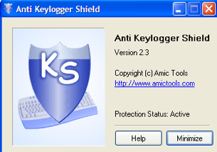 Anti Keylogger Shield Keeps Your Passwords Safe
