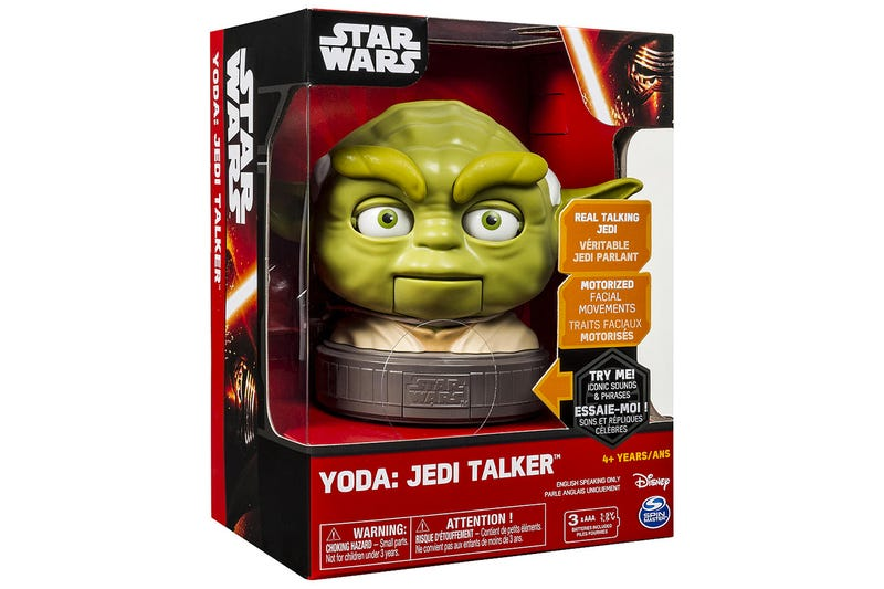 Stare This Talking Yoda In the Eyes and You'll Never Be Able To Look Away