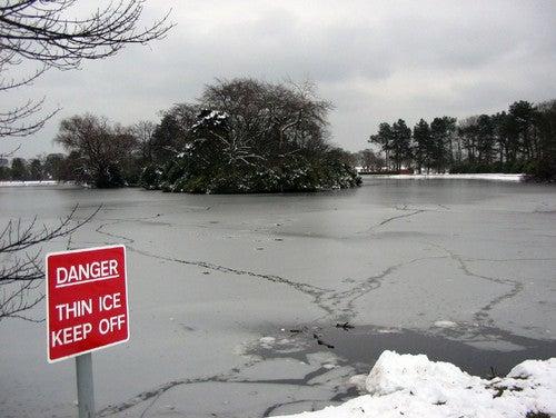 Survive a Fall Through Ice