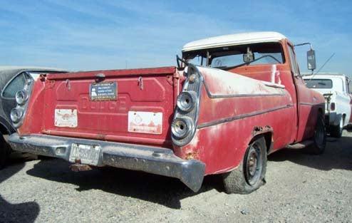 Super-Rare Dodge Sweptside Bides Its Time In Arizona Junkyard