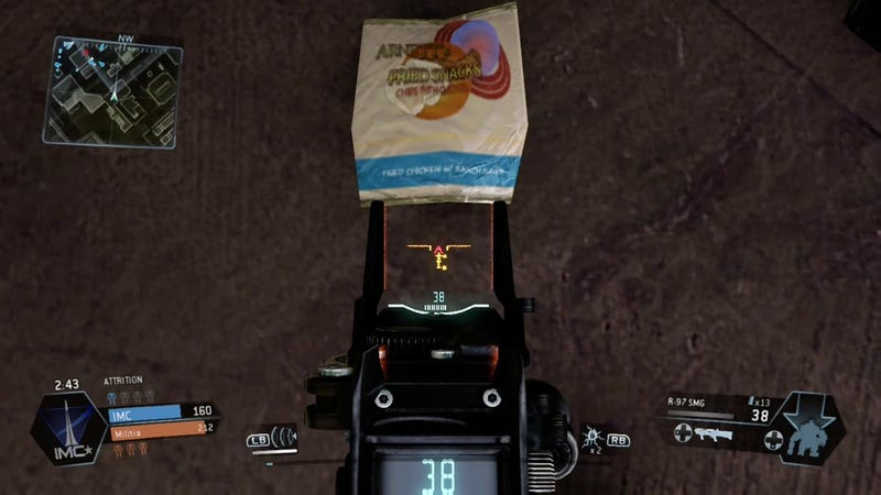 There's So Much To Eat And Drink In Titanfall, You Guys
