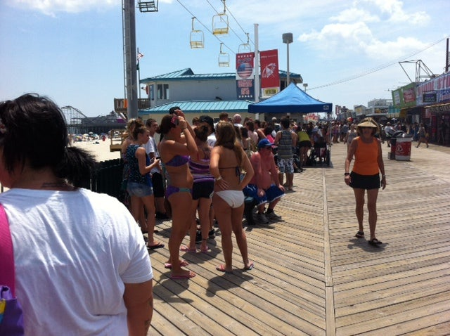 I Successfully Stalked the Jersey Shore Cast