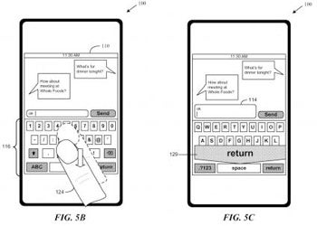 Apple Patent Shows Nifty Keyboard Gestures for the iPhone