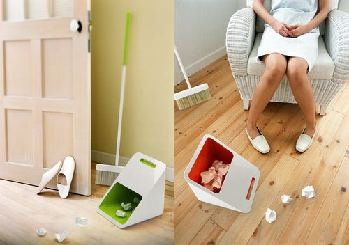 DustPan+Bin Fits In Your Tiny Ikea Apartment