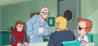 On Venture Brothers, Hank wants to become a drifter and post-Crisis Batman