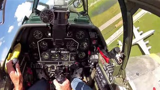 This Amazing First Person View Shows Every Move It Takes To Fly A P-51