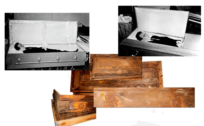 For Sale: Lee Harvey Oswald's Coffin
