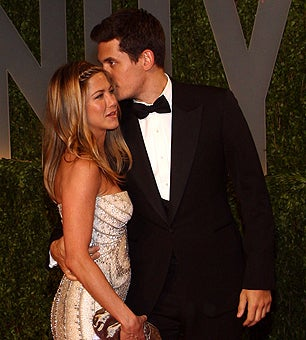 John Mayer & Jen Aniston: Not Engaged, Maybe Broken Up