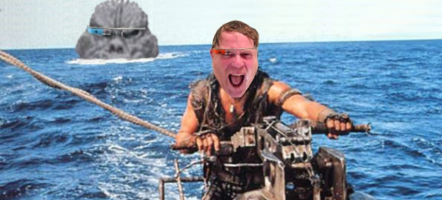 Photoshop Contest: Robert Scoble's Google Glass Shower Photo Turns One