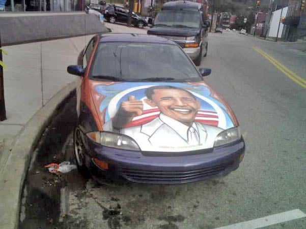 I'm Barack Obama And I Approve This Chevy Cavalier