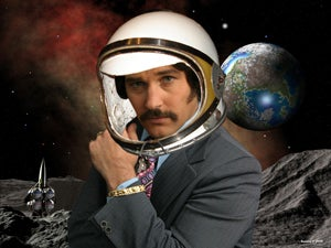 Great Odin's Raven! Anchorman 2 In Space?