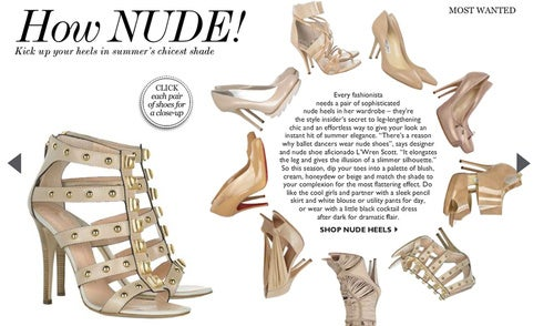 "Net-A-Porter's ""Nude"" Shoes Don't Come Darker Than Beige"