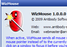 WizMouse Adds Scrolling to Out of Focus Windows