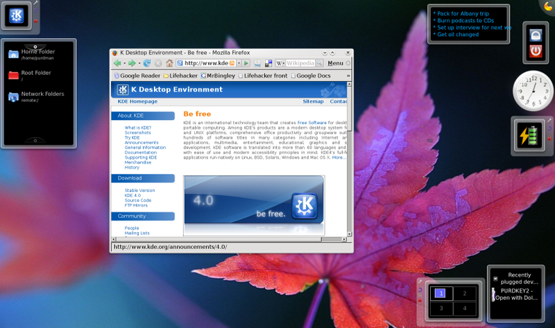 Design Your Own Desktop with KDE 4