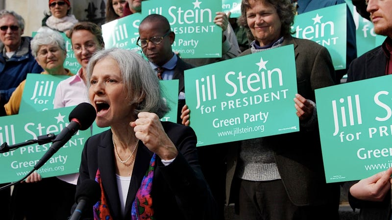 Jill Stein Wins Green Party Nomination in Spite of Roseanne's Fame