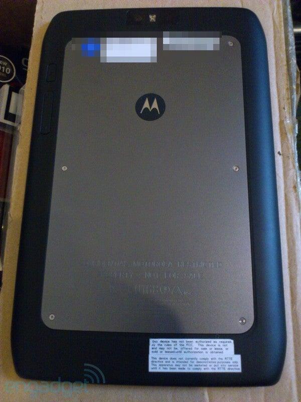 Is Motorola Making Two Xoom 2s?