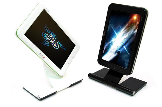 Mimo 7-Inch USB Displays Make Your Desktop Look Like a Battleoid Cockpit
