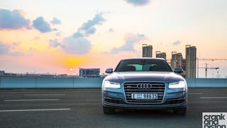 Audi A8 L. New entry. Management Fleet