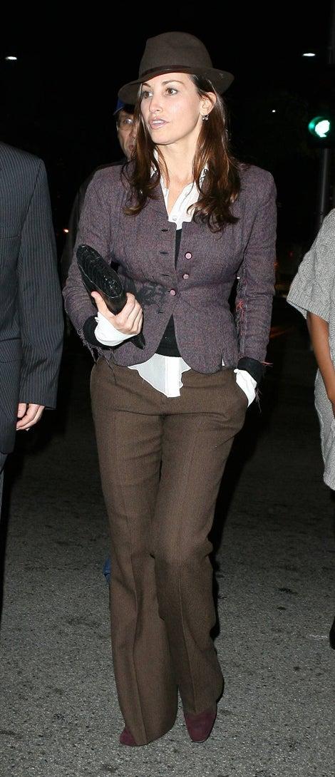 Gina Gershon's Gentleman's Garb